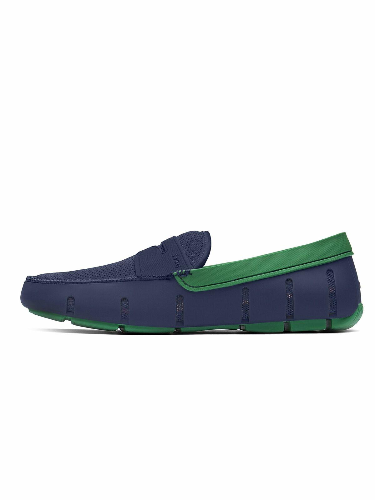 Swims Navy & Jolly verde Penny Loafer