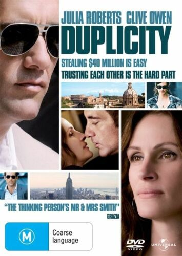 1 of 1 -  DUPLICITY..CLIVE OWEN..JULIA ROBERTS..REG 4..NEW & SEALED