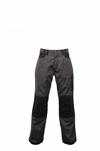 Regatta Workwear Bundhose Arbeitshose grey- black Größe 50 (34W 33L)