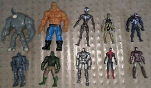 Lot-of-10-Marvel-Action-Figures