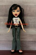 """MGA Bratz Style It Jade Doll 10"""" Brown Hair W Fashion Outfit Shoes & Accessory"""