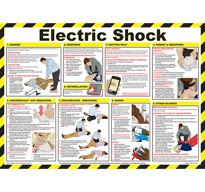 P316 Resuscitation Of Adults Laminated Poster 590mm x 420mm