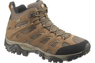 Merrell Moab Mid Waterproof (Earth) Men's Hiking Boots size 7