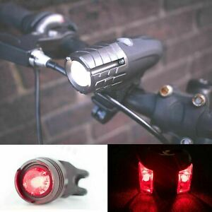 Bright-Rechargeable-USB-Velo-Cycle-Avant-Arriere-DEL-Tail-Lights-Lumiere-SET
