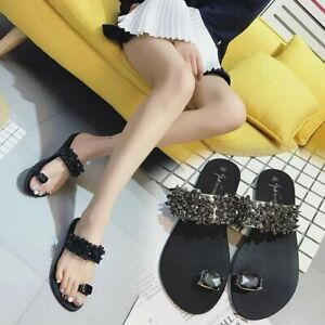 Summer-Women-Fashion-Casual-Shoes-Crystal-Sandals-Summer-Slippers-Plus-Size