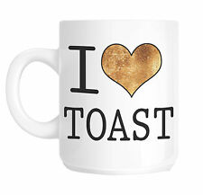 I Love Heart Toast Gift Mug