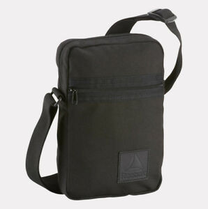 attractive price nice cheap fast delivery Details about Reebok Bag Style Foundation City Crossbody Shoulder bag Man  Women DM7176 Black