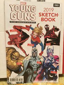 Marvel-Comics-2019-Young-Guns-Sketch-Book-NM