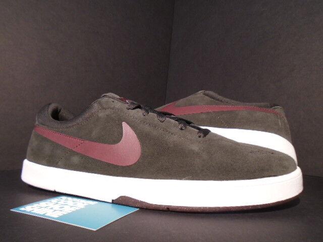2011 Nike Dunk ERIC KOSTON SB TAR BROWN NOUVEAU REDWOOD RED BLANC 442476-061 NOUVEAU BROWN 10 Chaussures de sport pour hommes et femmes 683cc8