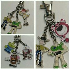 Toy Story Keyring, Choice of characters inc. Buzz, Woody, Jessie, Mr Potato Head