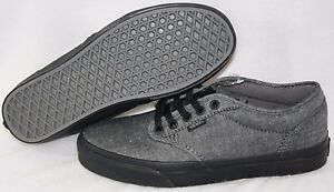 664298c2fad4e4 Image is loading NEW-Mens-VANS-Atwood-Textile-Black-Cordovan-Classic-