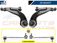 FOR MONDEO MK3 2 FRONT LOWER WISHBONE ARM ARMS & 2 HEAVY DUTY ANTIROLL BAR LINKS