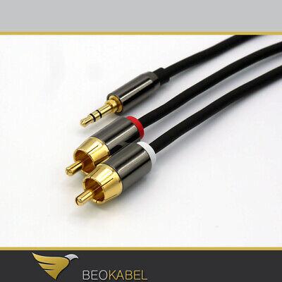 (7,45€/m) 2m Kabel / B&o Beocenter 2 - Aux Line Cinch Auf Klinke Z.b. Tablet, Pc Zu Den Ersten äHnlichen Produkten ZäHlen