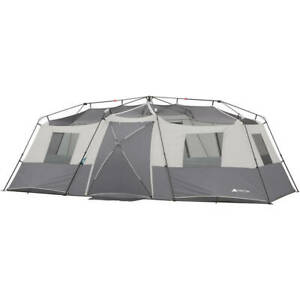 Details about 12 Person Instant Cabin Tent Heavy Duty Outdoor Camping Hiking Shelter Gear