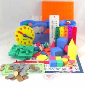 Saxon Math Manipulative Kit Grades K-5 Homeschool Resource Balance Counters