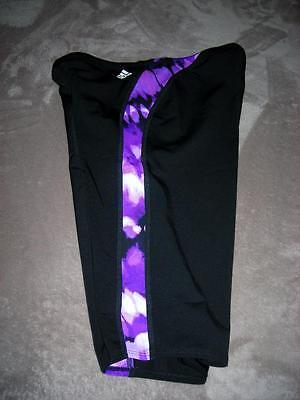 como comprar diseño atemporal buscar adidas Mens MTD Purple & Black Jammer Swim Shorts- Infinitex--MSRP ...