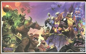 New-Spyro-Reignited-Trilogy-Gamestop-Exclusive-Promo-Poster-RARE