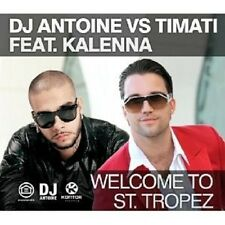 "DJ ANTOINE FEAT. KALENNA ""WELCOME TO..."" CD SINGLE NEU"