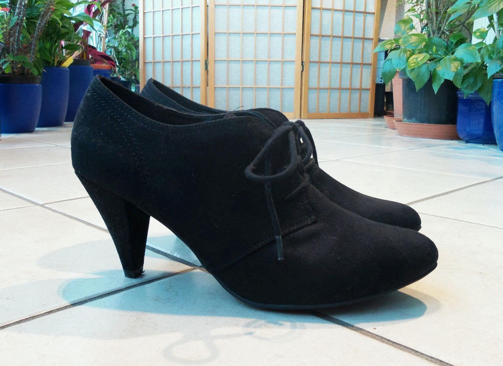GRACELAND Pumps High Heels Gr. DE 41 black Absatzhöhe 8,5 cm 1x getr. w.NEU