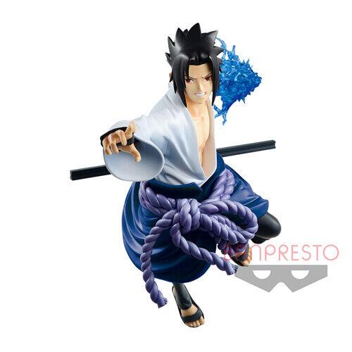 NARUTO Vibration Stars Sasuke Uchiha Pvc Figure Banpresto
