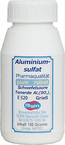 Aluminiumsulfat-100g-Dose-pure-reinst-SchwefelsaureTonerde