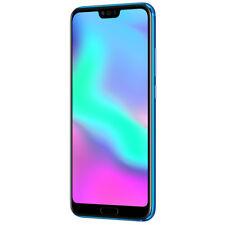 """New Huawei Honor 10 Phantom Blue 5.84"""" 128GB Dual Sim 4G LTE Android 8 Sim Free"""