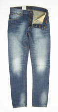 Nudie Jeans Hank Rey Organic Worn Denim Jeans - W30 L34 - RRP: £115