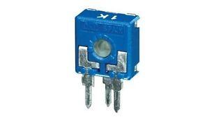 4pz trimmer 10x10 4,7 KOhm verticale regolazione con perno cod AB//072047