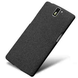 official photos 5384d 8873a Details about Hard Shell Slim Quicksand Sandstone Back Cover Case For  Oneplus One 2 3T 6 1+