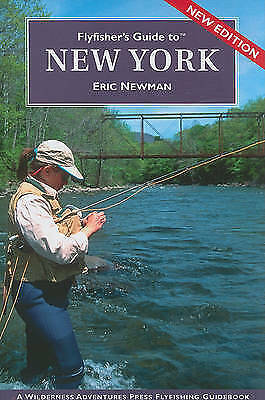 1 of 1 - USED (GD) Flyfisher's Guide to New York by Eric Newman