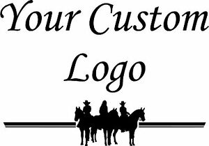 Your Custom Logo Vinyl Decal Stickers Horse Trailer Truck X EBay - Custom logo vinyl decals