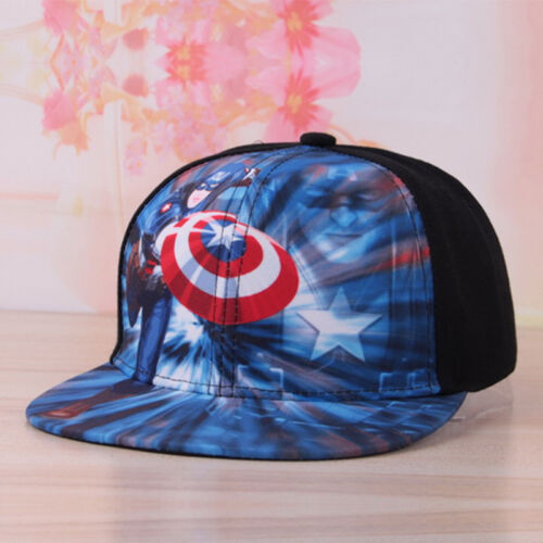 Boy Girl Kid Baby Baseball Cap Cartoon Hip Hop Toddler Snapback Beanie Sun Hat D
