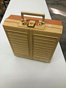 BS4-Vintage-RARE-Plano-SuperMagnum-Super-Magnum-double-flip-open-tackle-box-WOW