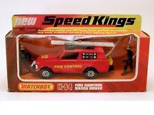 "MATCHBOX SPEED KINGS MODEL No.K-64 "" RANGE ROVER"" FIRE CONTROL"