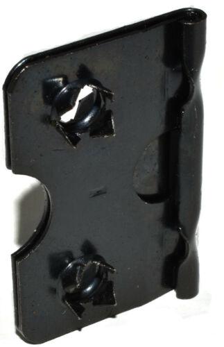 28mm BLACK EASEL STRUT HINGE PICTURE FRAMING FRAME HINGES HINGING SELF FIX 4HOLE