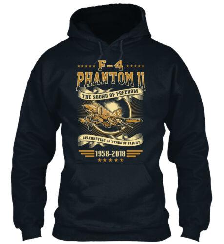 F4 Phantom 60 ans avant impression V1 H Standard College Sweat à capuche