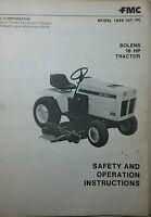 Bolens Qt-16 Garden Tractor & Bf Onan Engine Owner, Service & Parts Manual 80pg