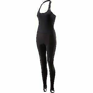 Madison Sportive Race Softshell halter neck women/'s bib tights black size 10