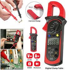 Digital Multimeter Tester Ac Dc Volt Amp Clamp Meter Auto Range Lcd Handheld Us