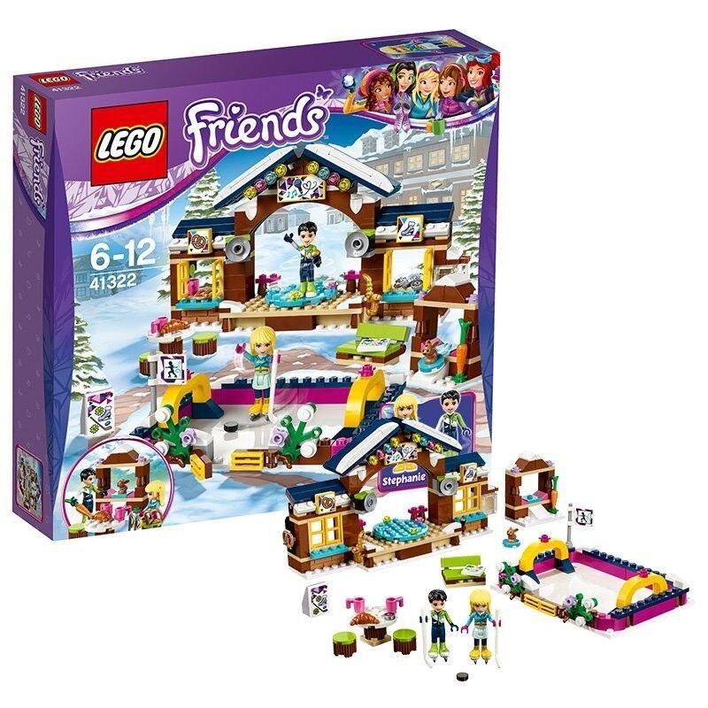 LEGO PISTA PATTINAG.VILLAGGIO FRIEN 41322