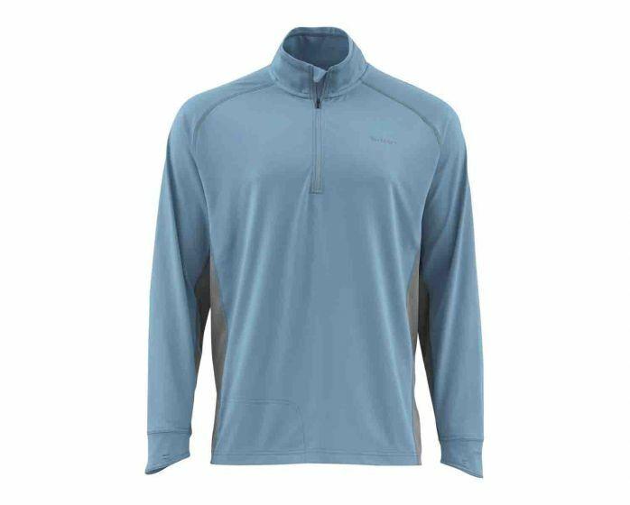 Simms  Solarflex 12 Zip Shirt blu Stream  Diuominiione 3XL  Closeout