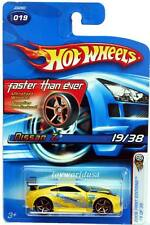 2006 Hot Wheels #19 First Edition Nissan Z yellow FTE