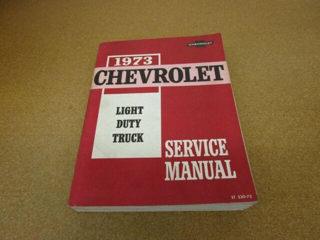 1973 Chevrolet C  K Pickup Truck Suburban Blazer K10 K20