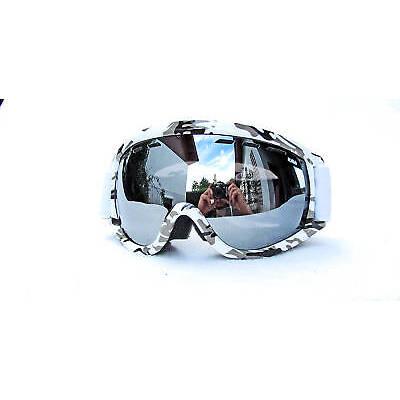 goggle SNOWBOARDBRILLE SKIBRILLE VON  RAVS   WEISS / CAMOU