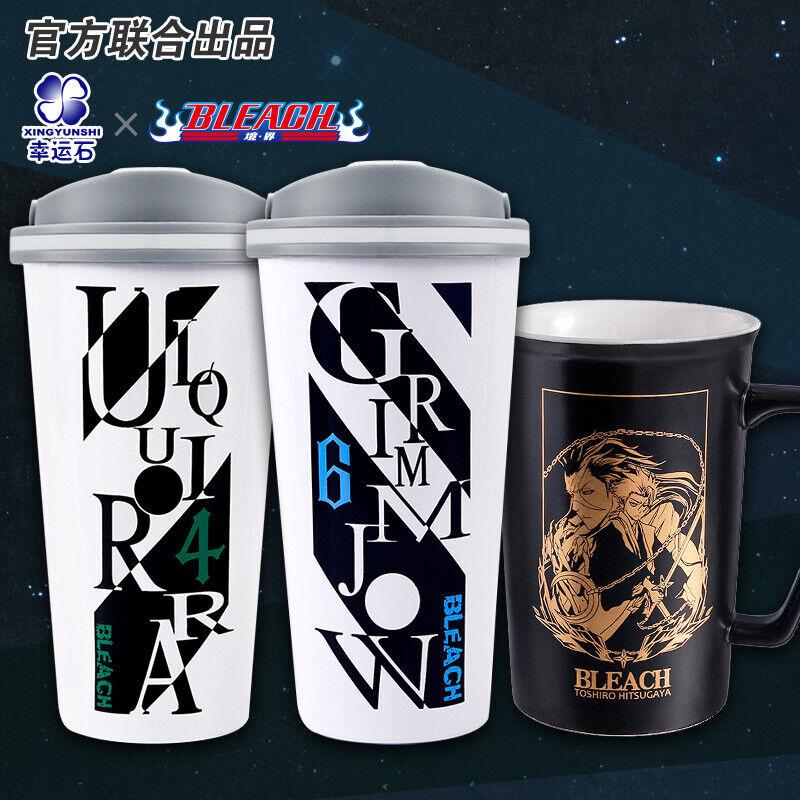 Anime Bleach Kuki ichigo Cosplay Ceramics Mug Cup Student Gift