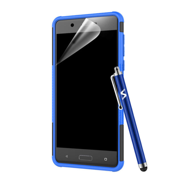 on sale f68e7 1a69d Nokia 5 Case, Heavy Duty Armour Tough ShockProof Builder and Hard Back Cover
