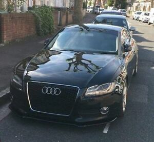 Performance-Front-Bumper-Lip-Audi-S5-A5-Coupe-spoiler-Cup-Chin-Valance-Splitter