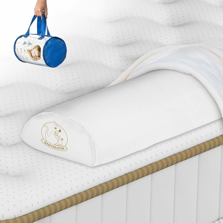 1 Pack White Soft /& Secure/™ Bedrail Bumper