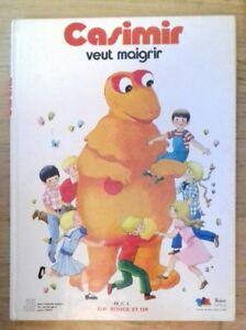 CASIMIR-VEUT-MAIGRIR-L-039-ile-aux-Enfants-G-P-Rouge-et-Or-1978-TTBE