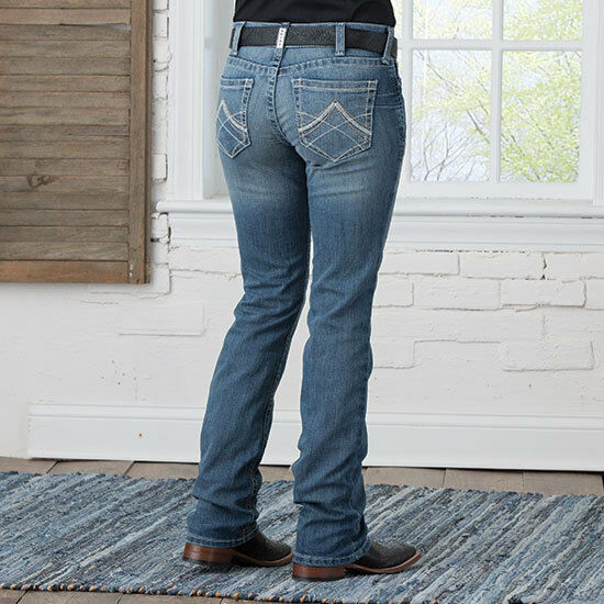 Ariat R.E.A.L. Straight Rainstorm Jean